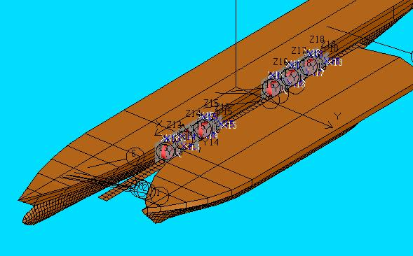 Ship Motion Seakeeping Hydrodynamics Offshore Structure